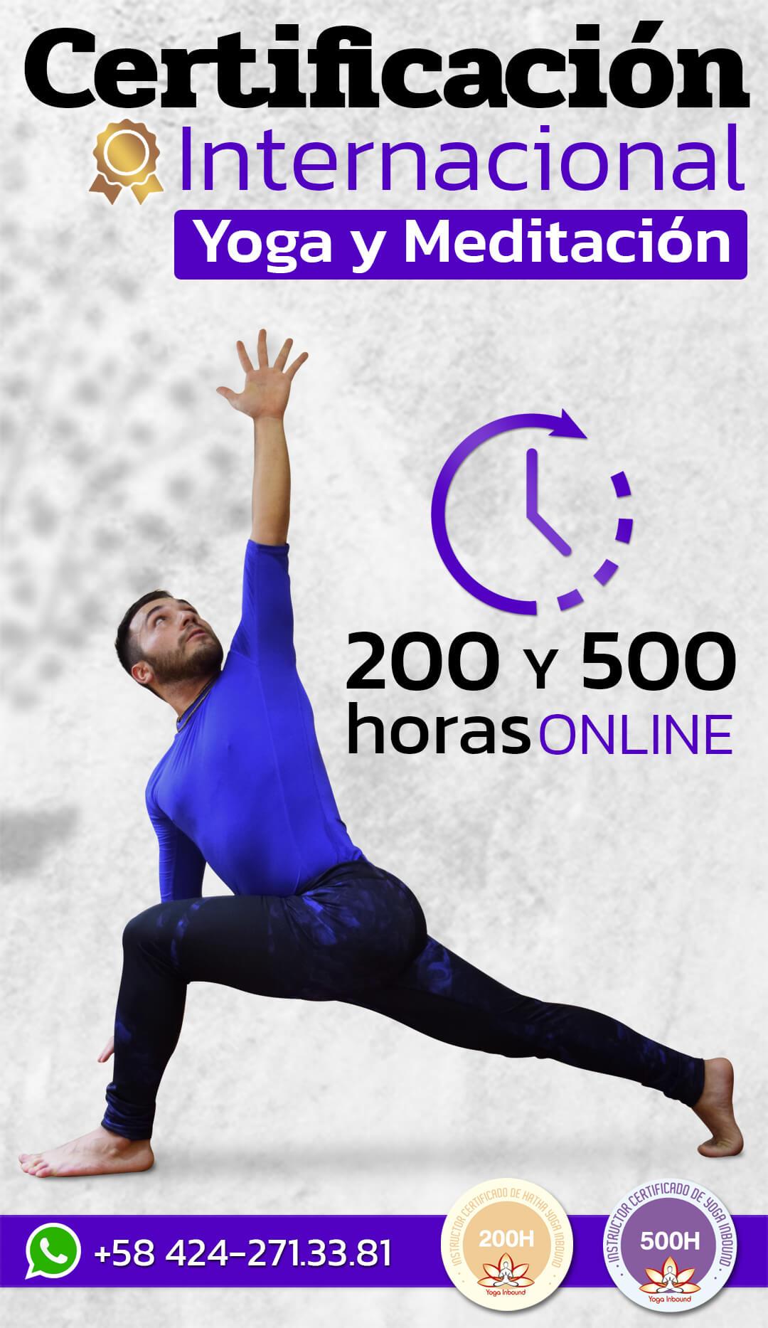 Certificación de Yoga y Meditación