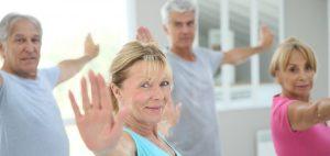 Yoga para adultos mayores